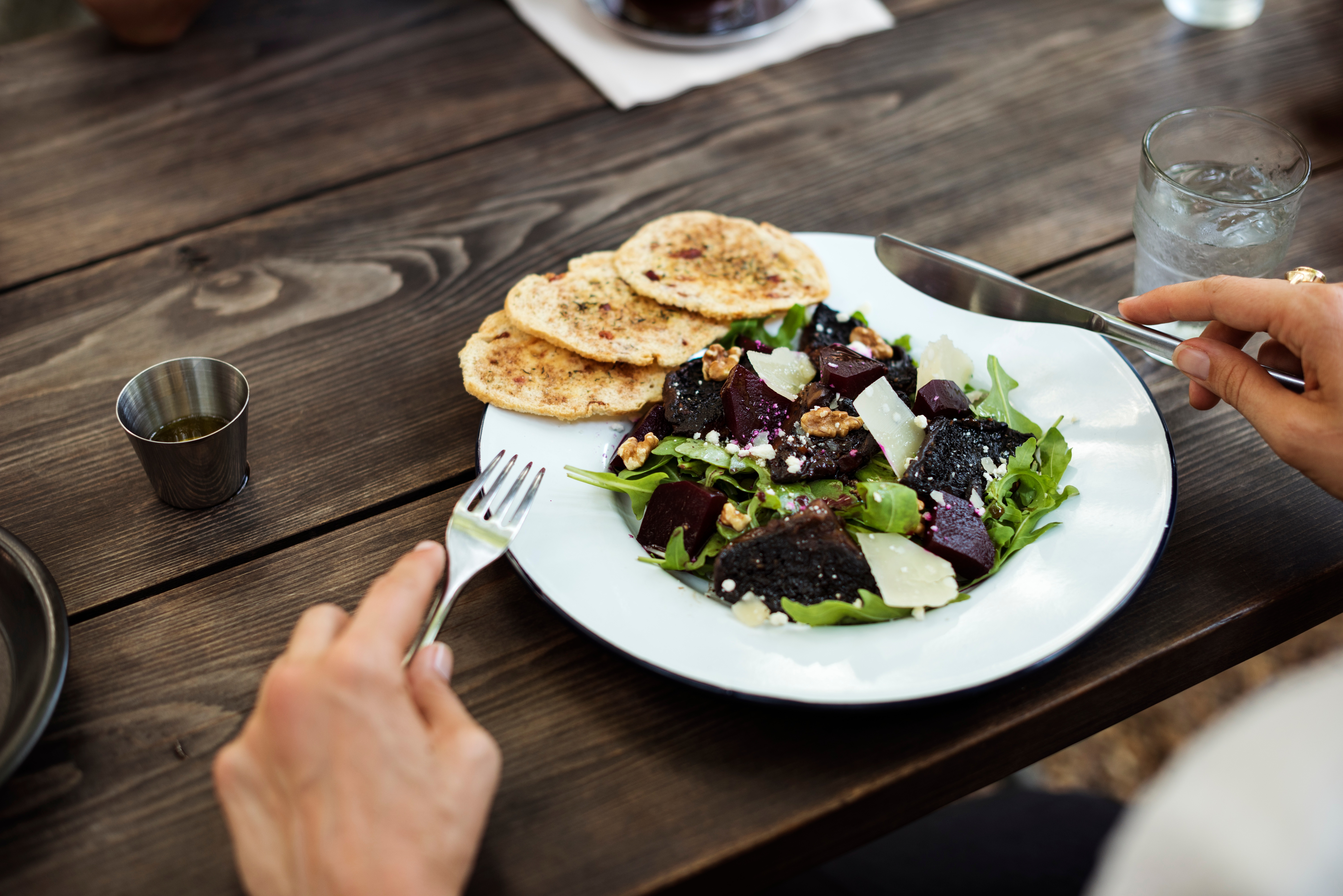 Eating healthy can lower your risk for colon cancer.