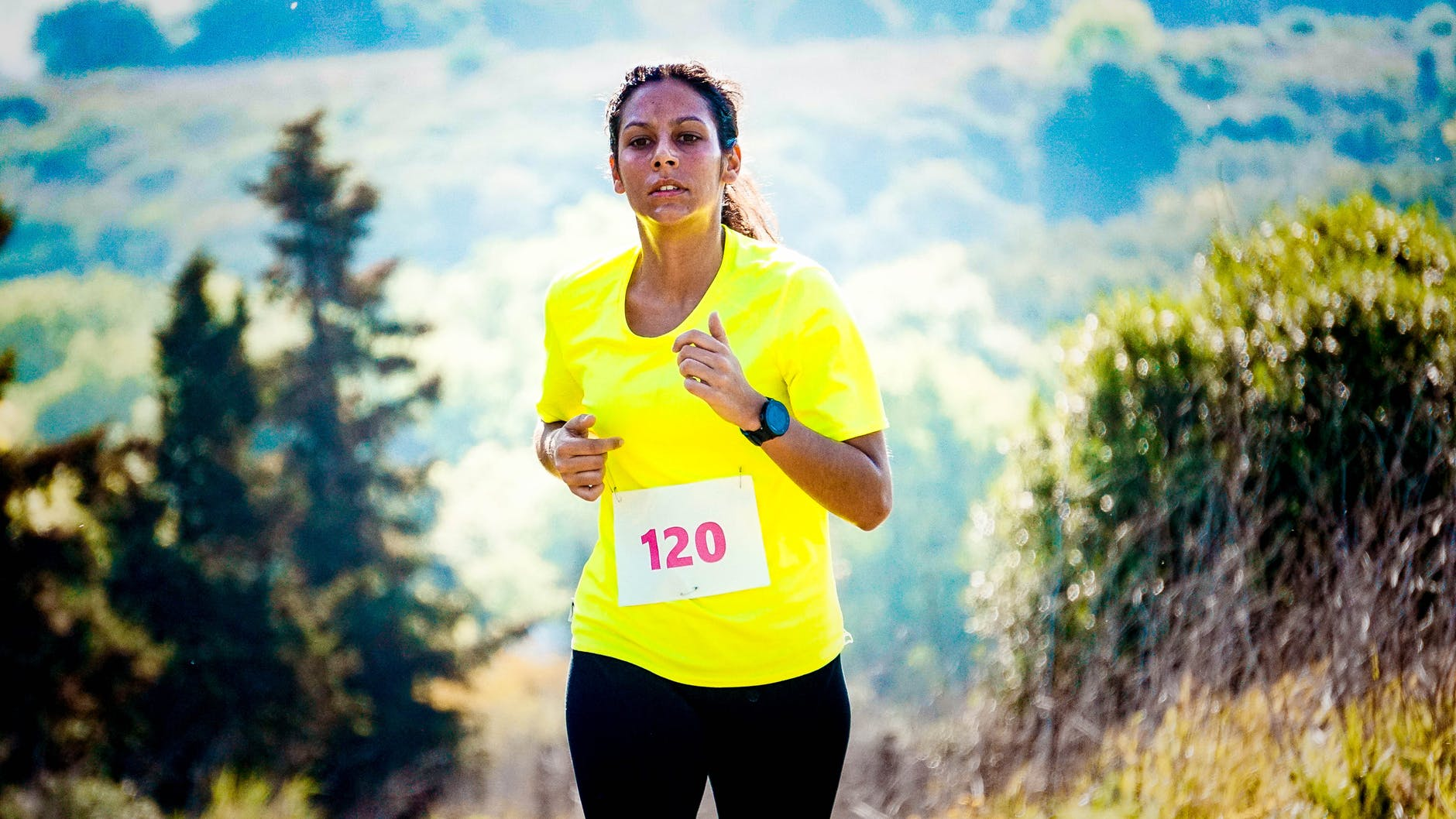 runner-sweating