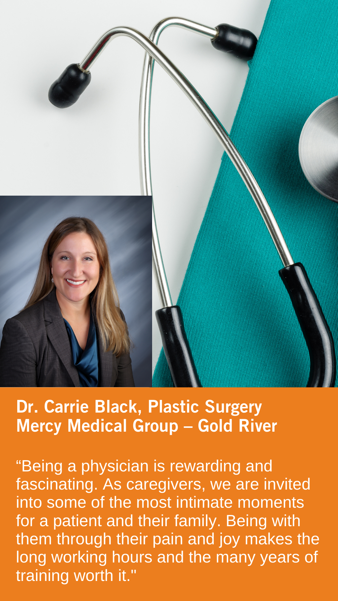 Carrie Black, MD, Cosmetic, Plastic & Reconstructive Surgery, Mercy Medical Group