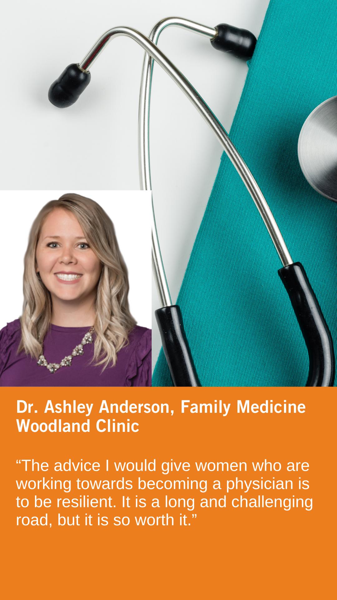 Ashley Anderson, DO, Family Medicine, Woodland Clinic