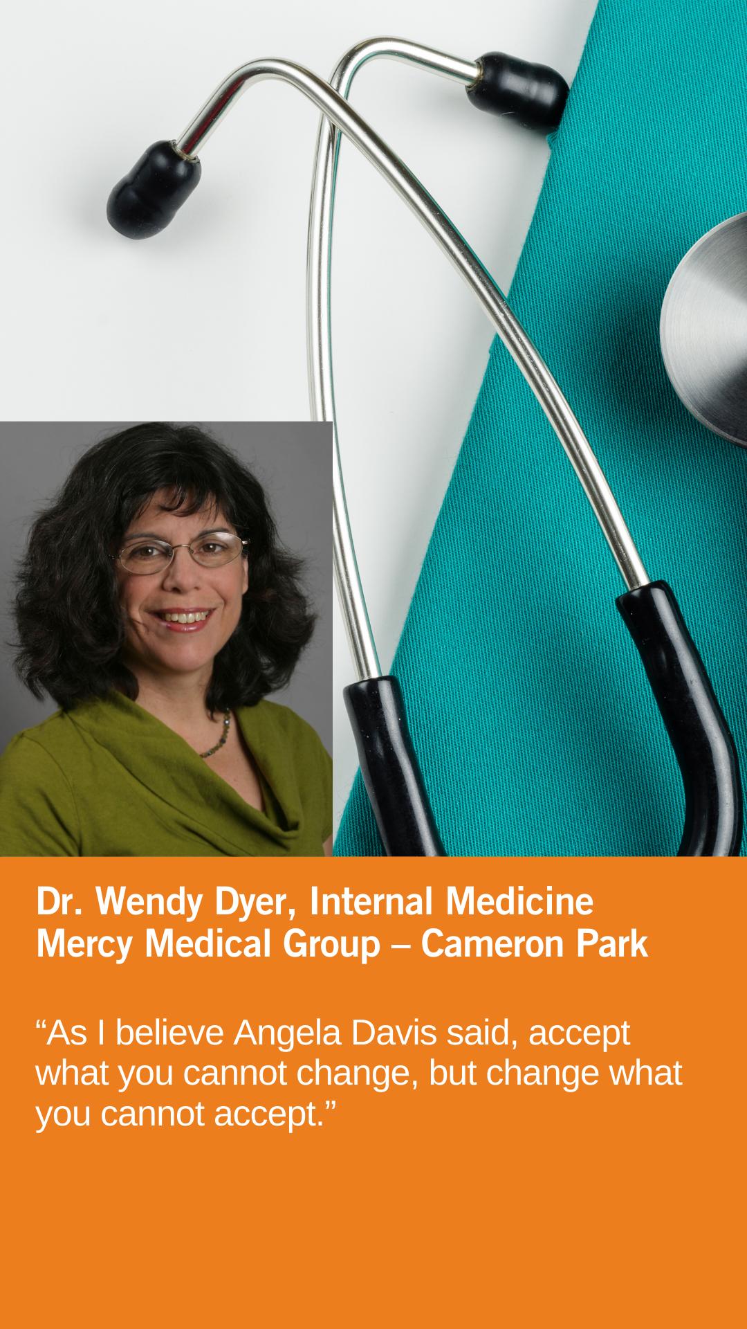 Wendy Dyer, MD, Internal Medicine, Mercy Medical Group